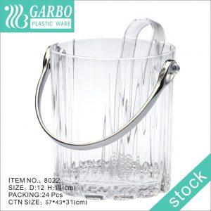 Cubo de hielo de plástico personalizado de 35 oz para regalo de promoción