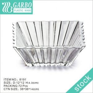 Square-shape Garbo Plastic Salad Bowl with New Design