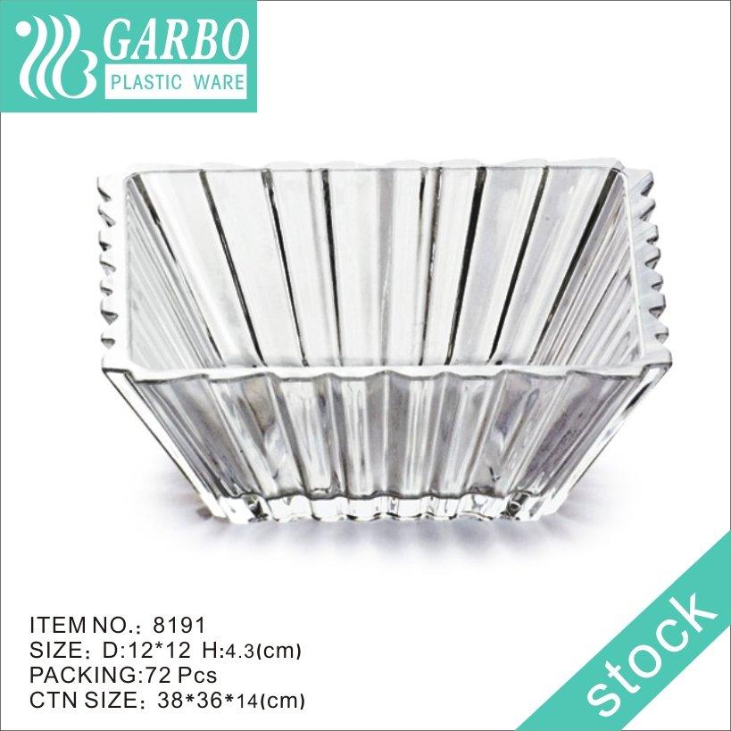 Салатница квадратной формы от производителей пластика Garbo с новым дизайном