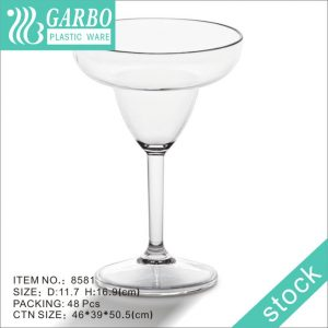 Cóctel de 330 ml que bebe copas de plástico irrompibles