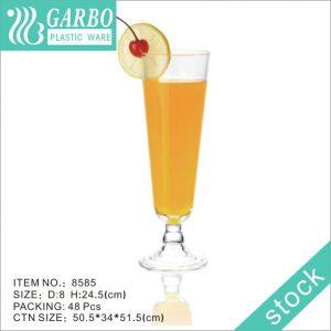 عصير قابل للغسل يدويًا شرب ستيمواري زجاجي بلاستيكي لحفلات الزفاف