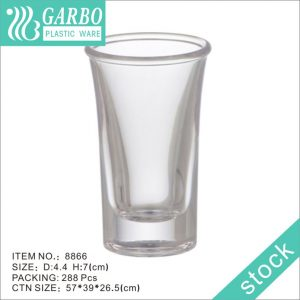 China supplier clear BPA Free & Recyclable 1 oz. Plastic Shot Cup