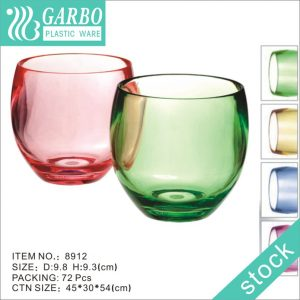Wholesale 15Ooz egg shaped PC wine cup bar use water drinking cup