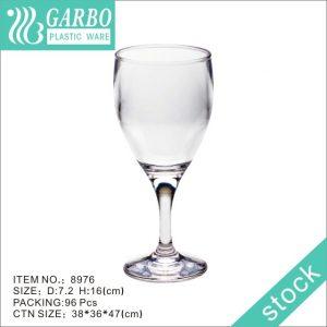 7oz vivocci unbreakable plastic stemless wine glasses