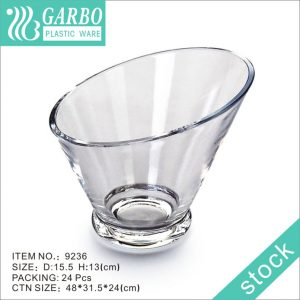 تصميم خاص من البلاستيك Garbo Salad Bowl للاستخدام المنزلي