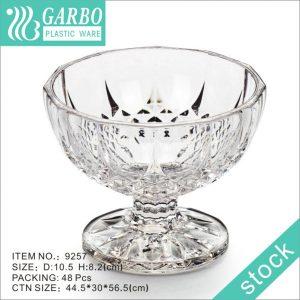 250ml PP disposable plastic dessert cups plastic bowl for party