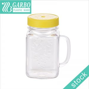 18OZ hot sale plastic storage jar with good price