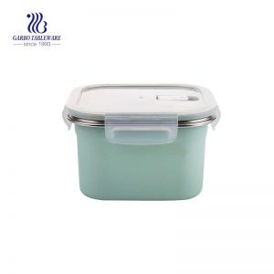 1300ml 304 stainless steel food container with airtight PP lid