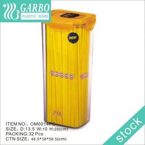 2-х литровые пластиковые контейнеры для хранения продуктов в морозильной камере для приготовления еды с крышками