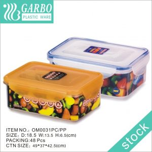 830ml Airtight Dry Food Cereal Pantry Container Food Storage Containers