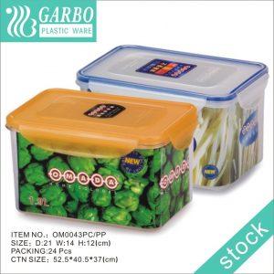 1.9L Airtight Storage Keeper For Flour Spaghetti Containers