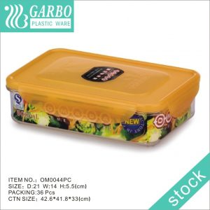 900ml Food Storage Pantry Containers Airght-tight Lunch Box