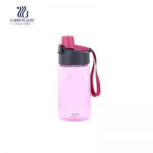 زجاجات مياه بلاستيكية قابلة لإعادة الملء 520 مل بالإضافة إلى صينية ثلاجة خالية من مادة BPA ومانعة للتسرب