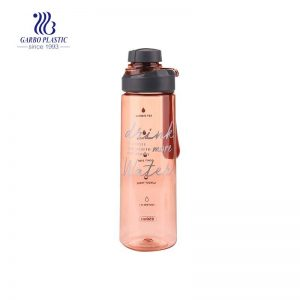 850ml leak proof BPA free sport gym water bottle with wide mouth