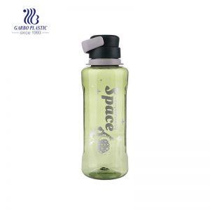 زجاجة تريتان كبيرة خالية من مادة BPA ومانعة للتسرب سعة 1500 مل للألعاب الرياضية والخارجية
