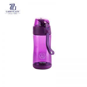 Las botellas plásticas de los niños pequeños de 350ml BPA liberan el tritan para el agua que beben fácil llevan