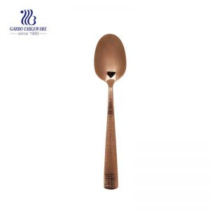 Ion plating stainless steel spoon flatware for home and restaurant