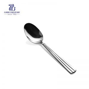 Silver coffee dessert spoon stainless steel portable olive spoon kitchenware