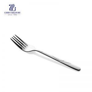 200mm mriior polished stainless steel fork flatware