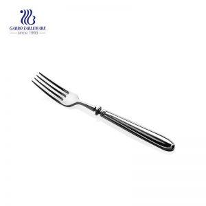 Flatware mirror polished stainless steel salad fork