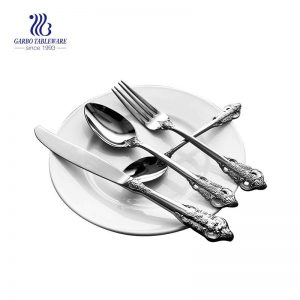 High Quality Flatware Set For 4 Pieces 18/10 Stainless Steel Unique Handle