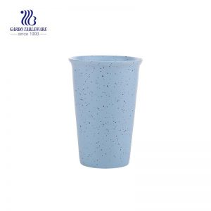 Breakfast Cup  Magnesia Porcelain Milk Tea Cup with unique logo