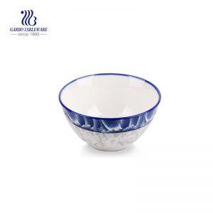 الصينية التقليدية نمط الأرز حساء الحبوب وعاء السيراميك المعكرونة