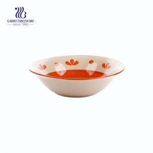 Decorative modern style hand made hand painted ramen salad rice cereal bowl with good price