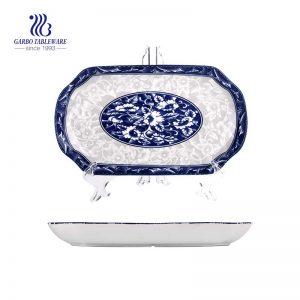 """Placa de cerâmica subvitrificada de 12.48 """"/ 317 mm em forma retangular para uso doméstico"""