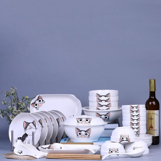 Conjunto de jantar de cerâmica popular para comercialização em todo o mundo
