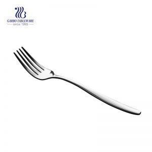 Tenedor del filete de los cubiertos de los cubiertos de la tenedor de la cena del acero inoxidable de 206m m para el restaurante