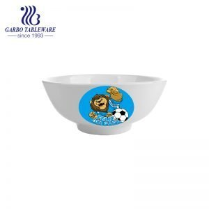Wholesale customizable decorated cereal noodle bowl with factory price