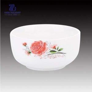 وعاء أرز دائري أنيق الشكل مع زخرفة جميلة للبيع بالجملة