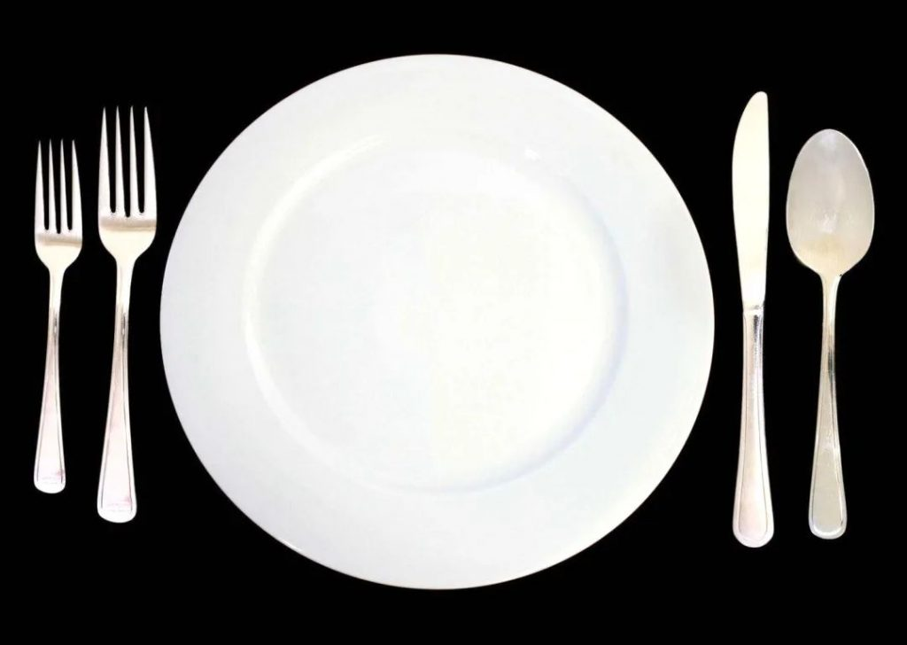 Do you know the meaning of cutlery tableware placement in Western food?