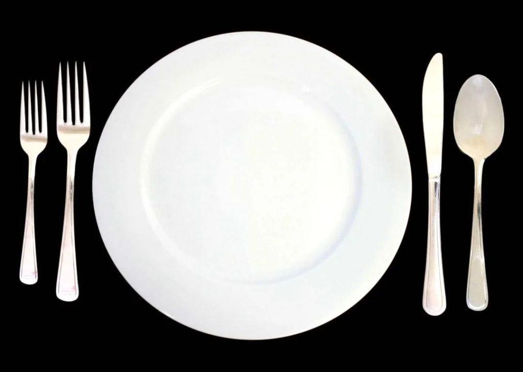هل تعرف معنى وضع أدوات المائدة في الطعام الغربي؟