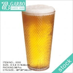 Wholesale 24oz large transparent beer drinking plastic cup in cheap price