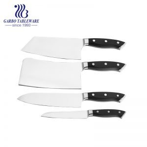 High Quality Premium  Fantastic Chief Knife Set Professional High Quality Polish 420 Stainless Steel Kitchen Knife Set With ABS Handle