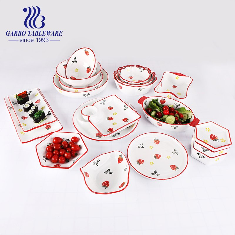 How to choose a good-looking ceramic dinner plates for your tableware?