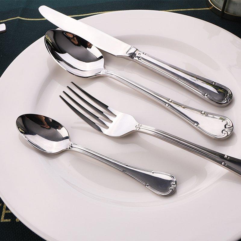 5 نصائح للتعرف على أدوات المائدة الفولاذية المقاومة للصدأ ذات الطراز الغربي