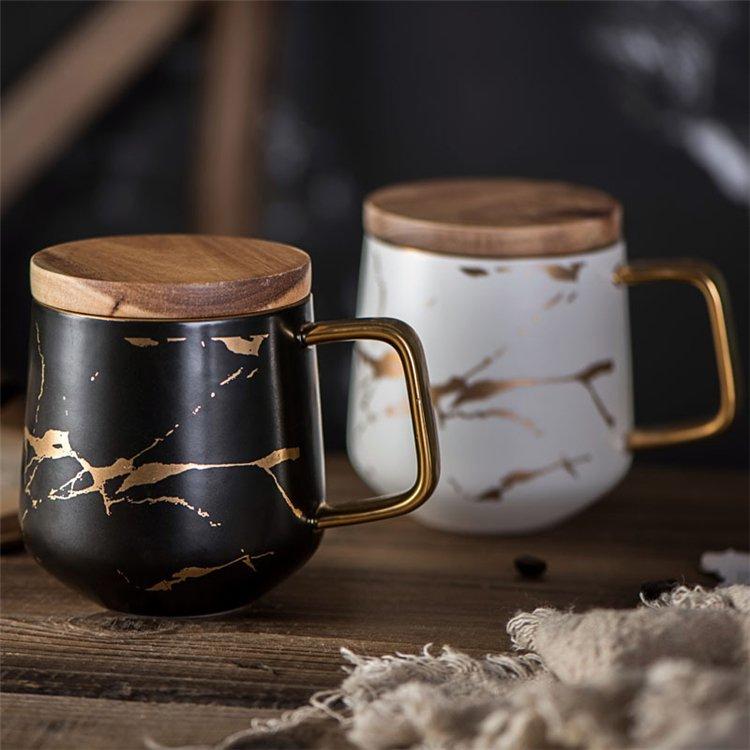 Quais são as vantagens dos designs de copos de cerâmica e de venda a quente no mercado?