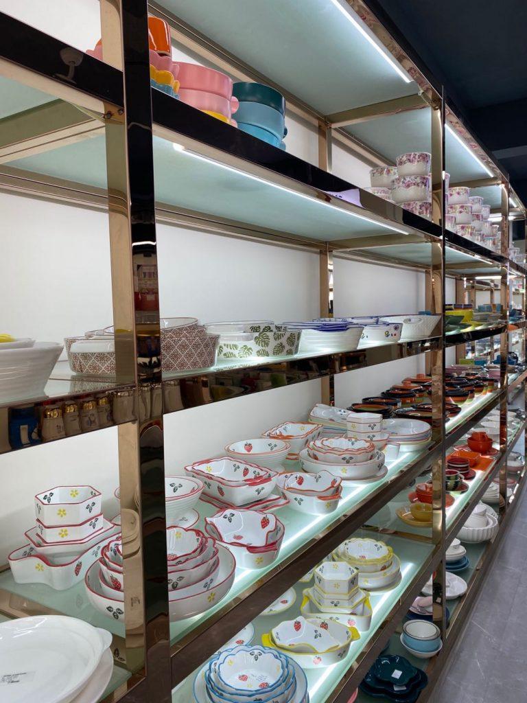 A quarta sala de amostra multifuncional do Garbo