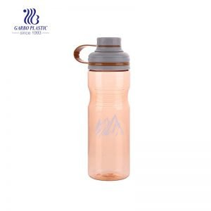 1L Plastic water drinking bottle with a small mouth suitable for exercise