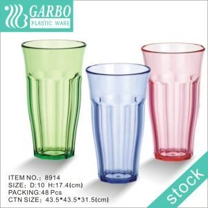 Wholesale 26oz large colorful polycarbonate round plastic cup for drinking