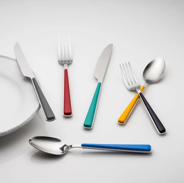 How to recognize the distinction on flatware with PP handle PS handle and ABS handle?