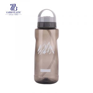2500ml portable brown PP water drinking kettle for outdoor using