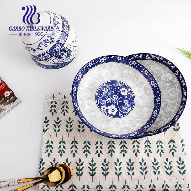 Why the under glazed ceramic dinner set are so popular?