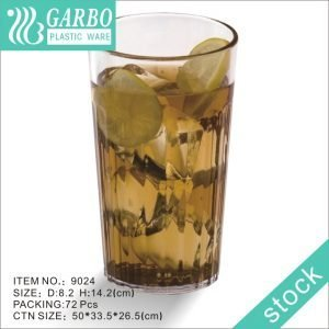 Garbo 470ml unbreakable juice drinking glass polycarbonate drink water tumbler