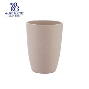 Eco-friendly Wheat Straw Drinking Cup Durable 14oz water tumbler