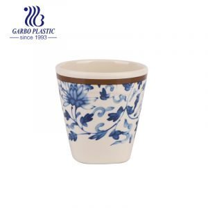 Chinese style 17cl polycarbonate tea coffee drinking cup