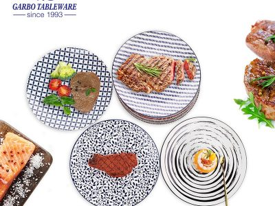 Why the under glazed ceramic dinner set are so popular?